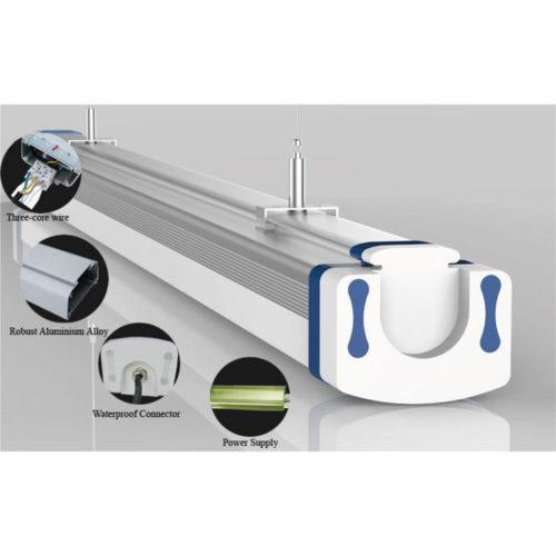 LED Tri-Proof Light 65W, Schutzklasse IP66