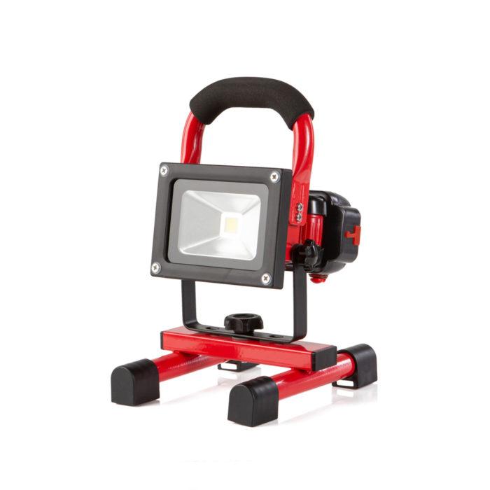 MUVA LED Akku Fluter 10 Watt austauschbarem Akku