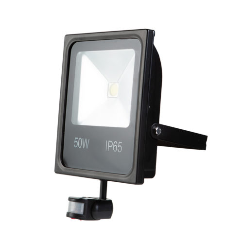 LED Fluter 50 Watt mit Sensor (abnehmbar) - MUVA Tech