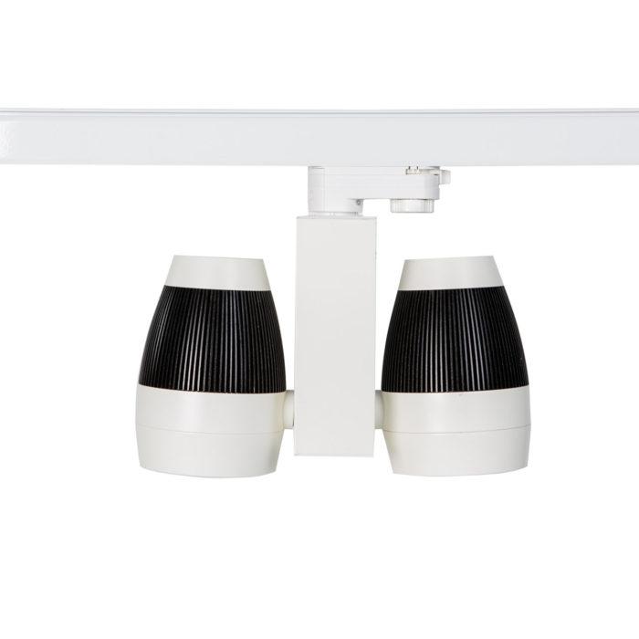 LED TRACK LIGHT 2 x 20 Watt