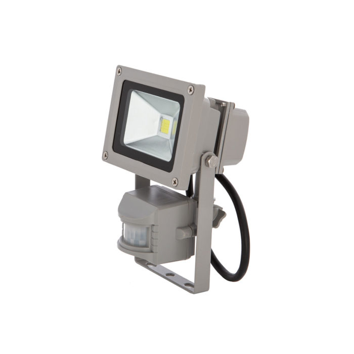 MUVA LED – LED Fluter 10 Watt mit Sensor