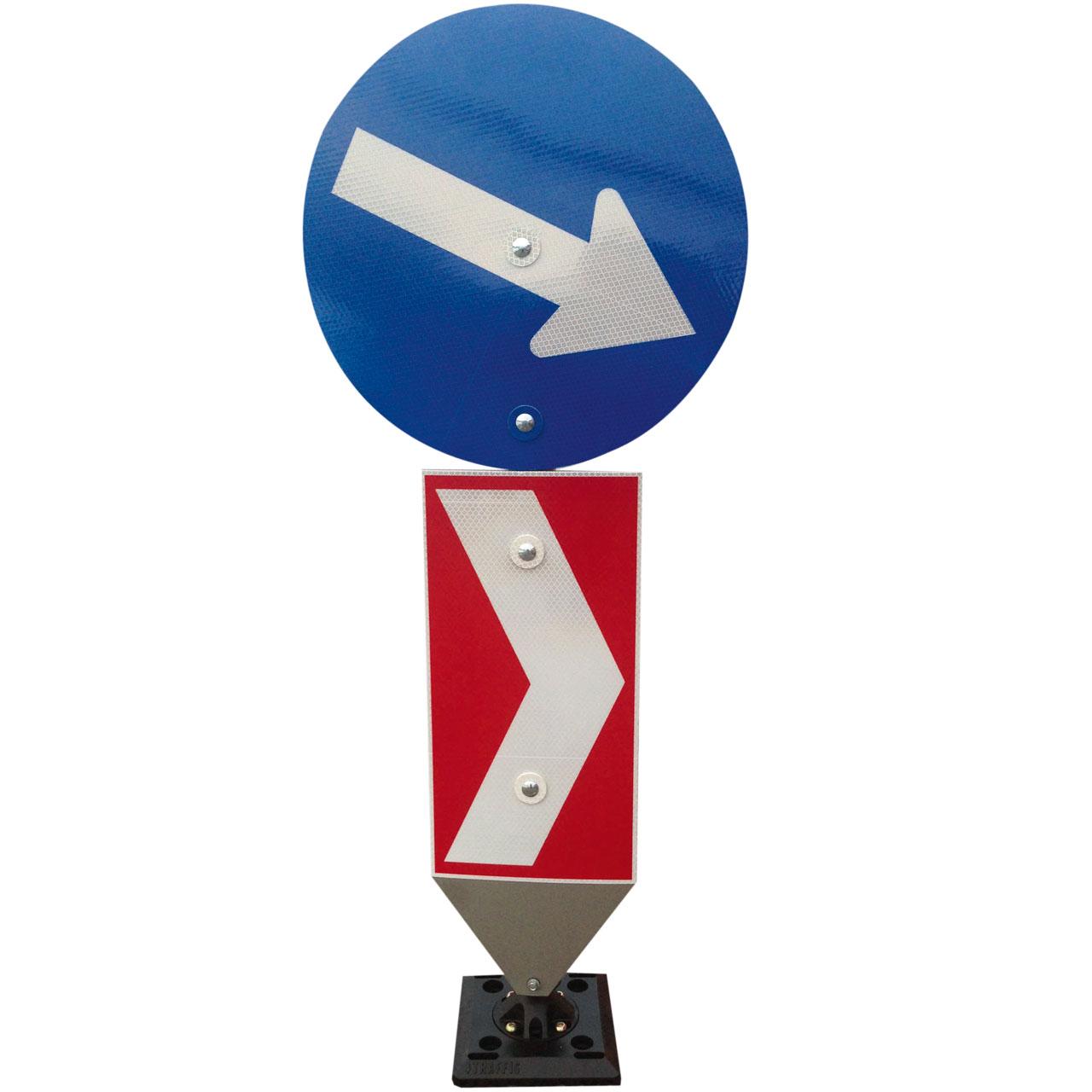 MUVA SAFETY TS Flexible Poller - Flexisign Austria - Flexible Verkehrszeichen